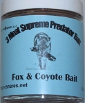 3 Meat Supreme Predator Bait Fox,Coyote,Bobcat