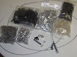 Snare Builders Kit 100 Dispatch snares  ( Choice 1/16th or 3/32nd)