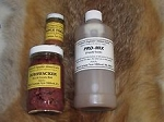 1-16 oz.Carman's PRO-MIX coyote scent 1-triple threat 1oz. 1-bushwacker 8oz bait