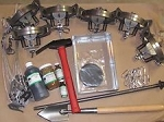 Coyote Trapping Package 6 duke #3 coil spring Fox Coyote Raccoon Trapping