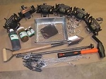 FOX Trapping Package 6 Bridger #2 coilspring Fox Coyote Raccoon trapping
