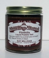 (Flint Hills Liquid Bait) Attractive meat for both fox, coyote and bobcat's too!