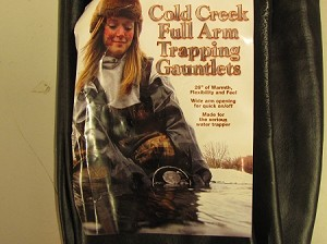 "Cold Creek Full Arm Trapper""s Gauntlet"