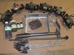 Coyote Trapping Package 12 Bridger #2 coilspring Fox Coyote Raccoon trapping